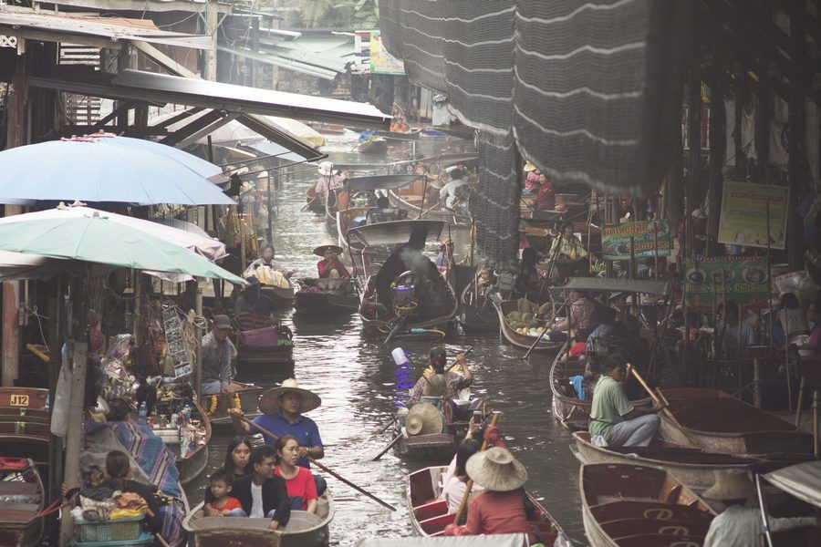 Damnoen Saduak Floating Market | Bangkok One Day Trip