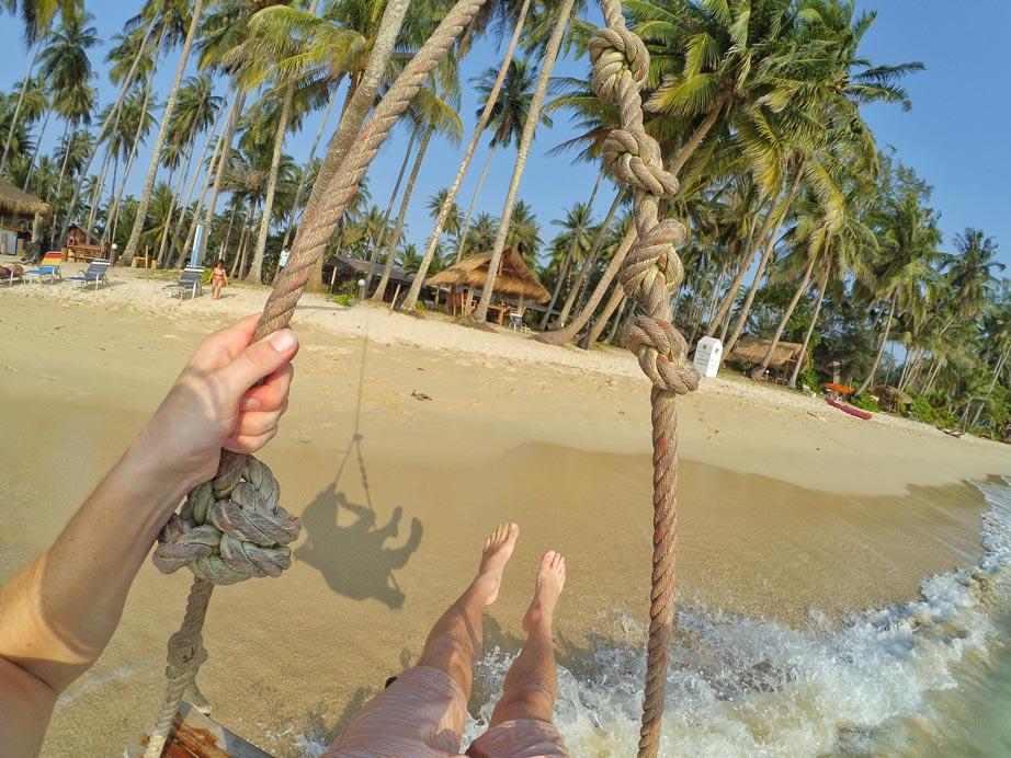 Koh Kood Cabana Swing