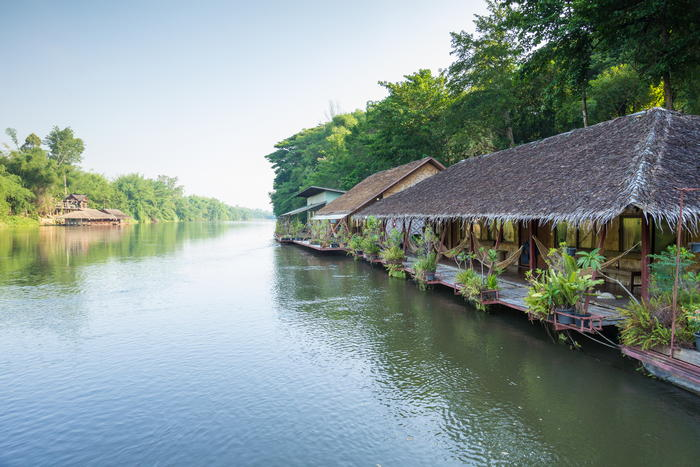 Tayan Resort Saiyok near to Prasat Muang Sing
