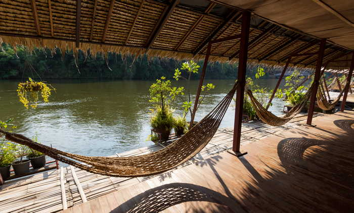 Saiyok Raft House Hammocks