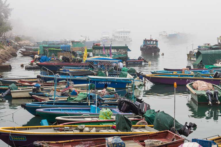 Fishing Boats in Hong Kong