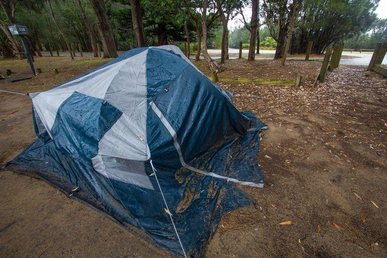 Camping at murramarang national park