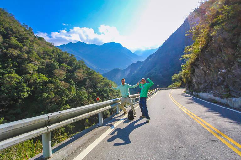 getting around taroko national park walking