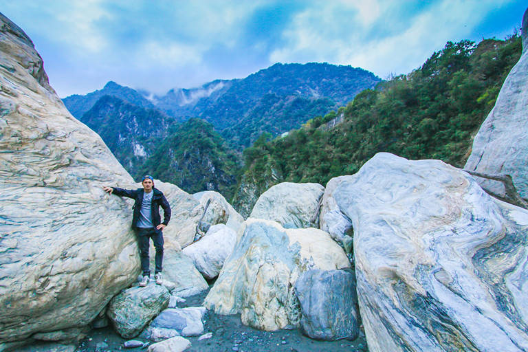 Hiking in taroko national park