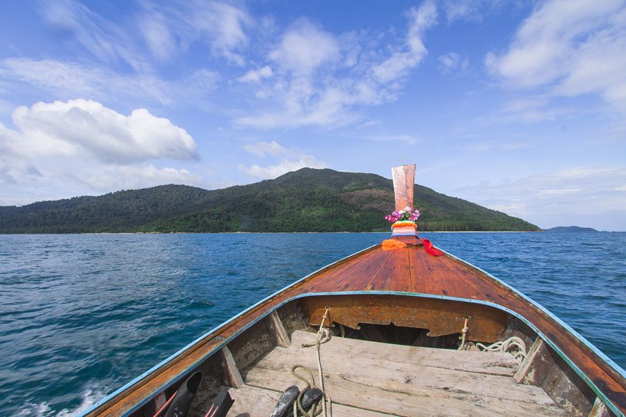 Boat to Koh Adang