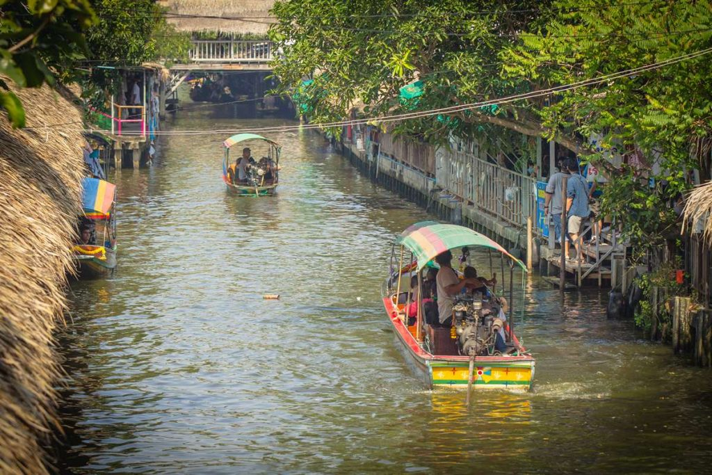 Khlong Lat Mayom Floating Market Bangkok