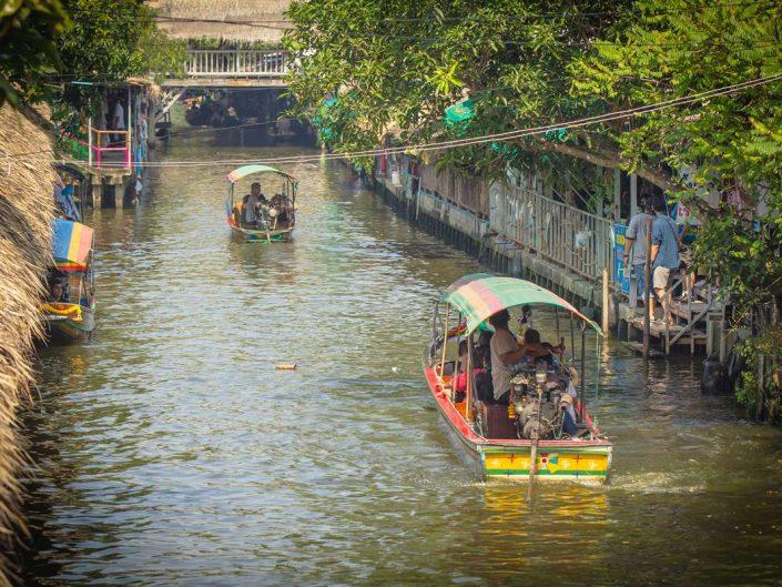 Khlong Lat Mayom Floating Market Bangkok