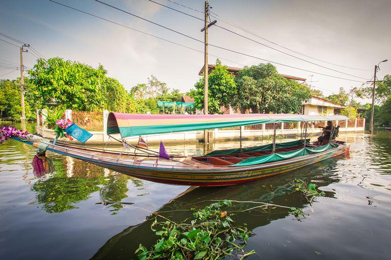Longtail boat Khlong Lat Mayom