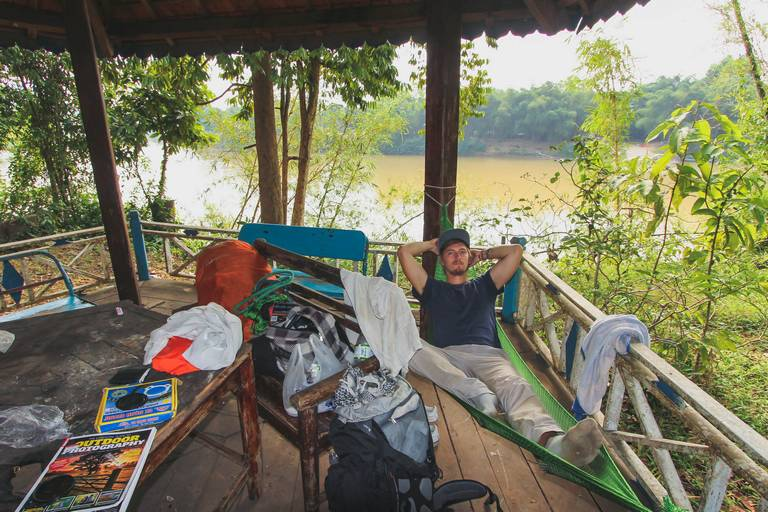 Camping at Cat Thien National Park