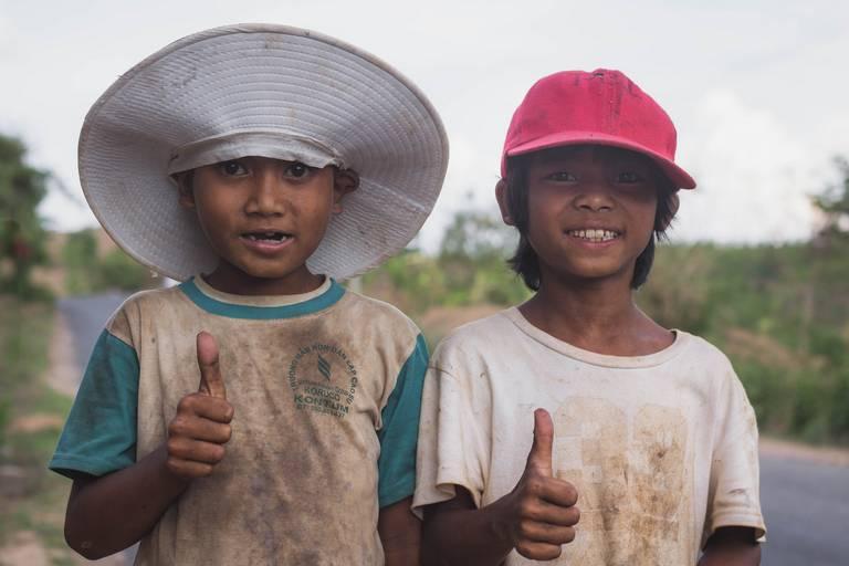 Children at Kon Tum Vietnam