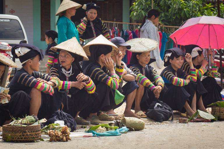 Hill Tribes at Bao Lac Market