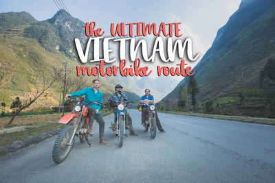 the ULTIMATE VIETNAM motorbike route
