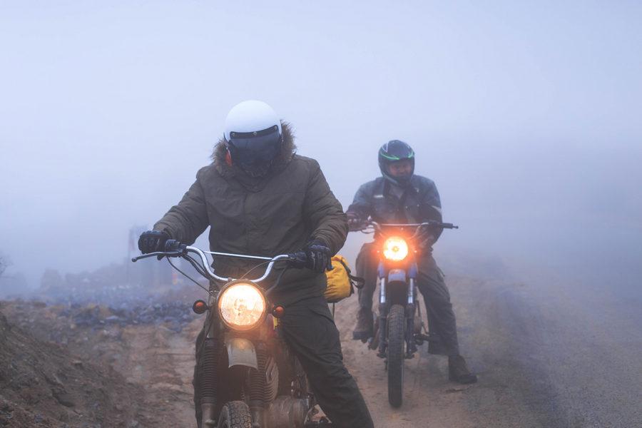 Ha Giang to Dong Van thick fog