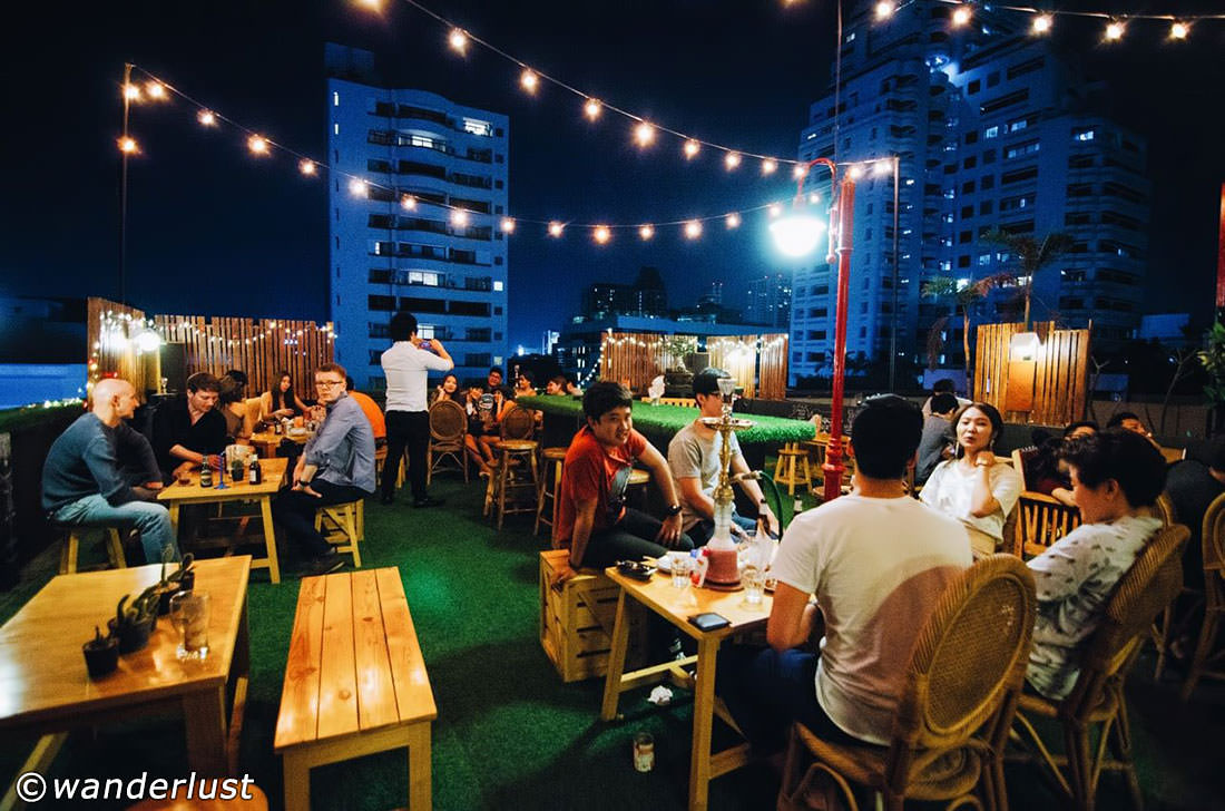 Wanderlust Rooftop Bar in Bangkok