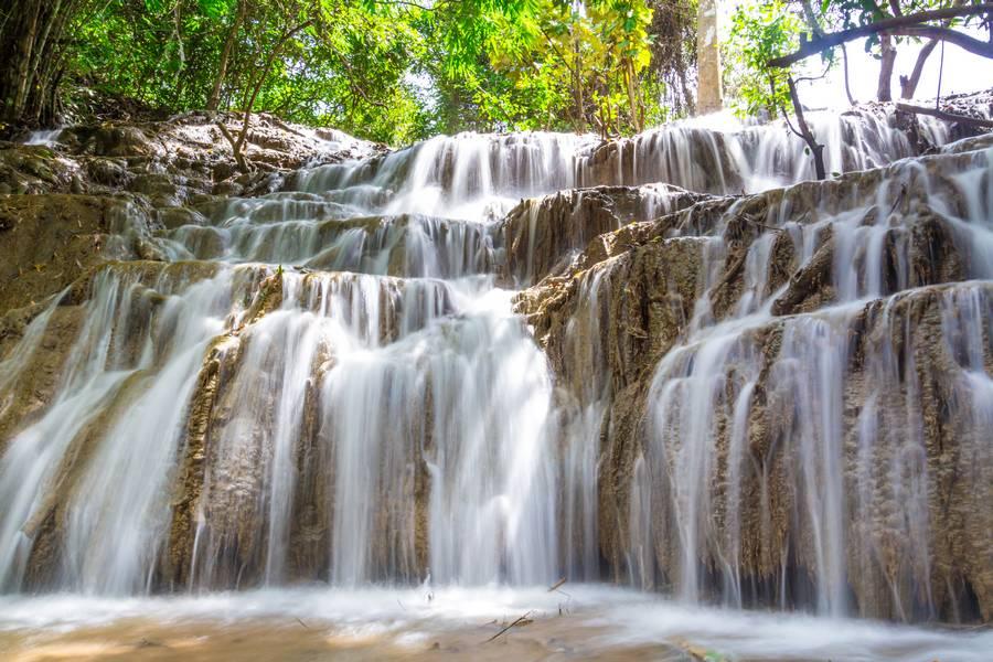 Sangkhlaburi Waterfall