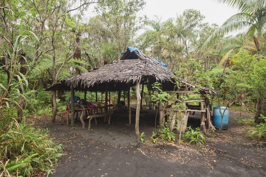Ambrym Volcano Base Camp