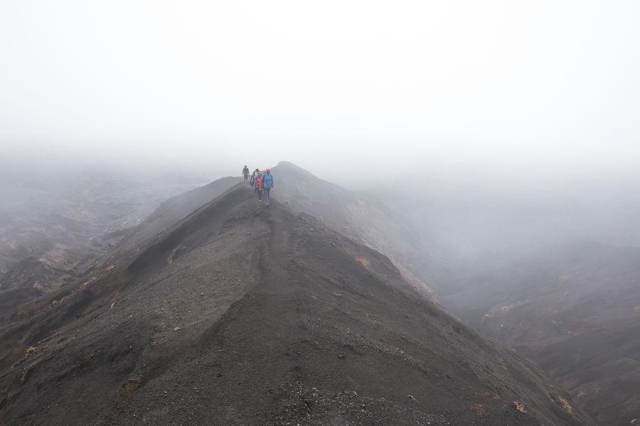 Climbing Ambrym's Volcanoes