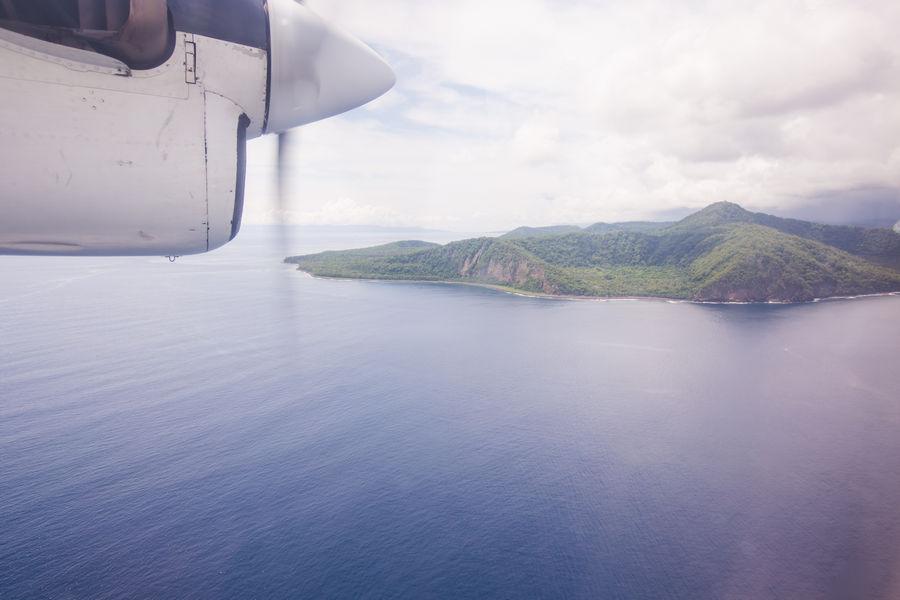 Flying to Ambrym