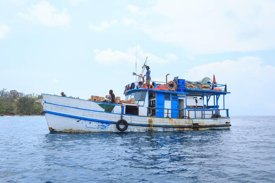 Litz Litz Cargo Boat, Malekula