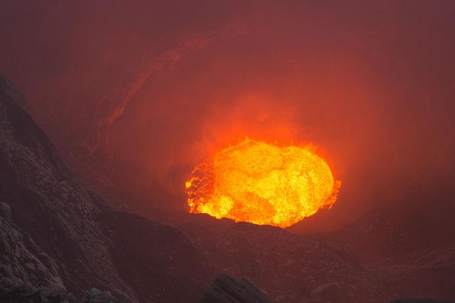 Mt Marum Lava Lake