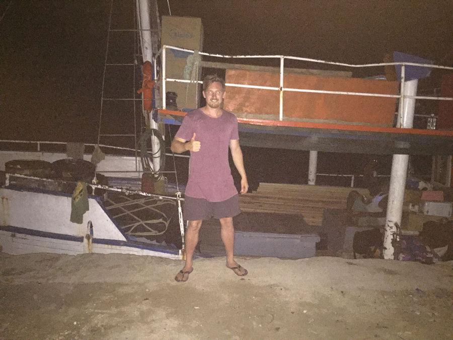 Regim Cargo Boat Vanuatu