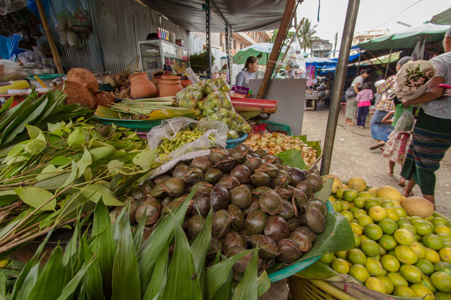 Fresh markets in Thachileik