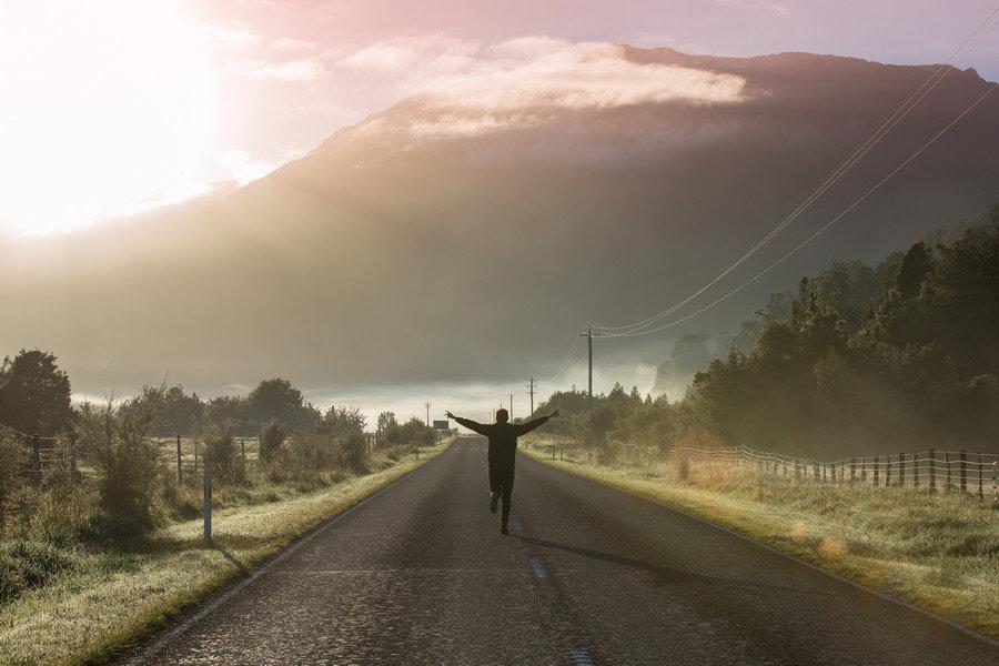 Haast Pass - Franz Josef to Wanaka