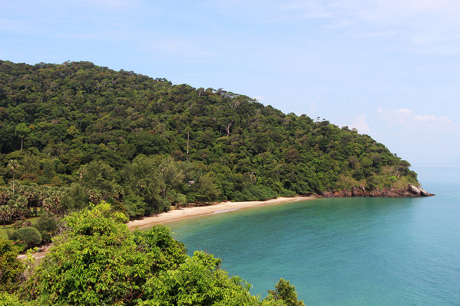 Sandy Beach at Koh Lanta National Park