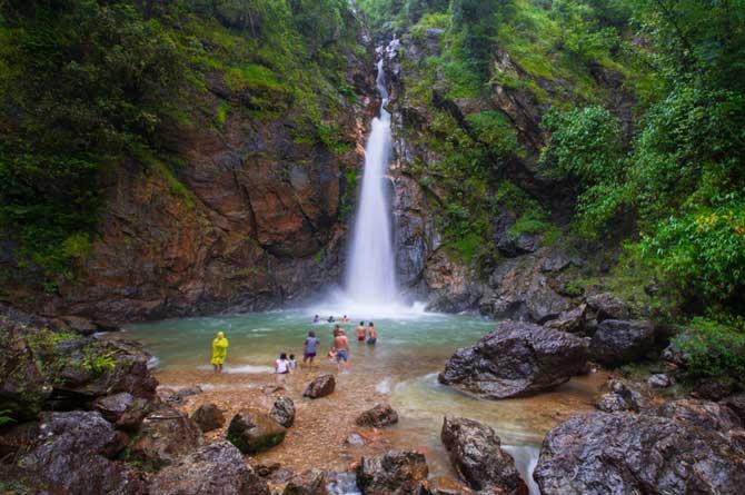 Jokkradin Waterfall