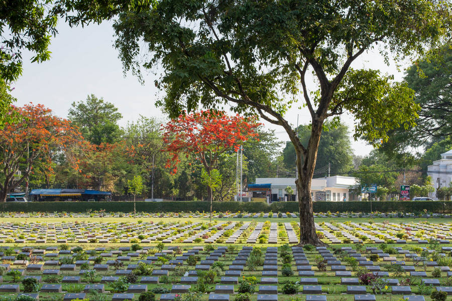 Kanchanaburi Allied Forces War Cemetary