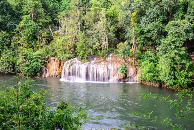 Sai Yok Yai Waterfall, Kanchanaburi