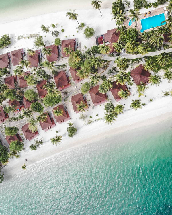 Koh Mook Sivalai Beach Resort Drone