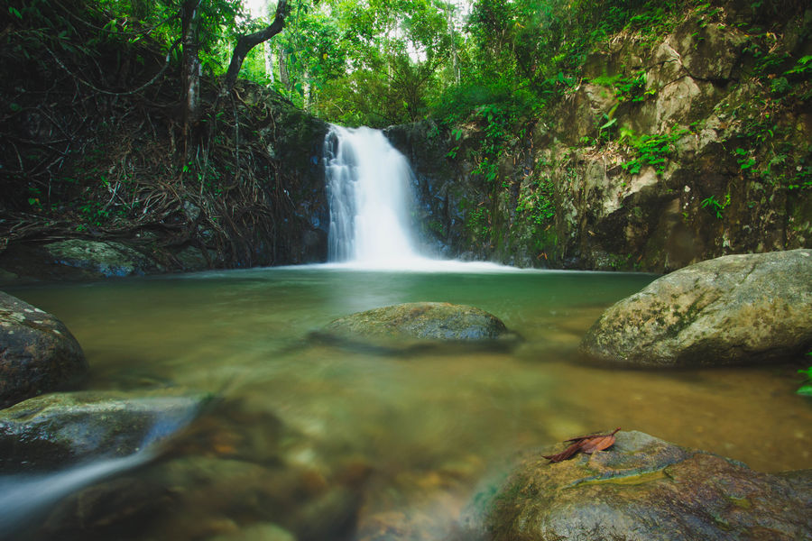 Vang Vieng Waterfall