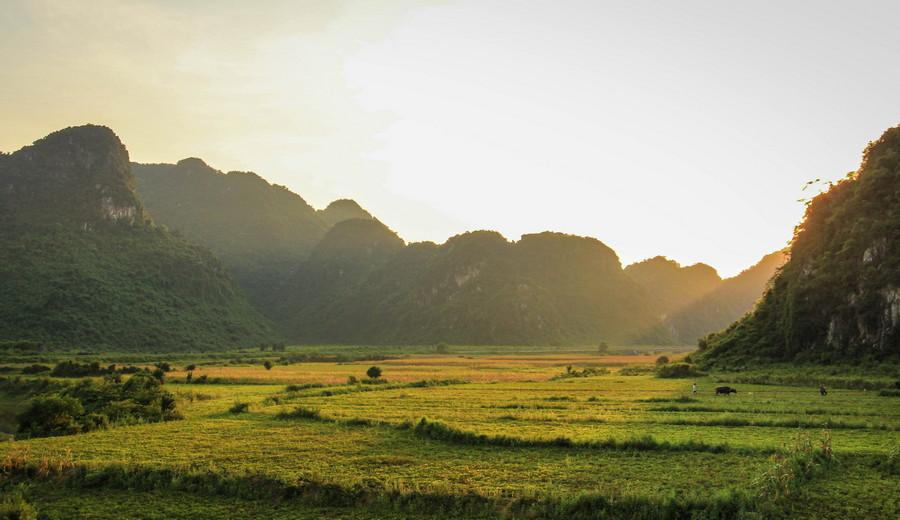 Phong Nha Farmstay Sunset