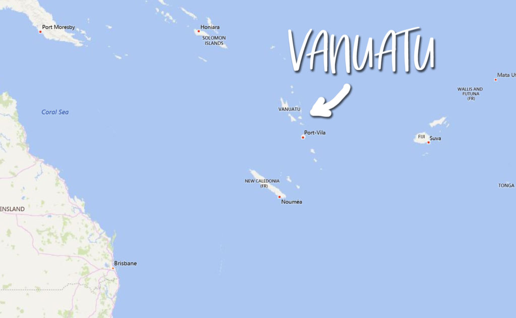 Where is Vanuatu Located