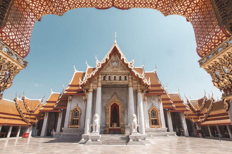 Marble Temple - Wat Benjamabhopit