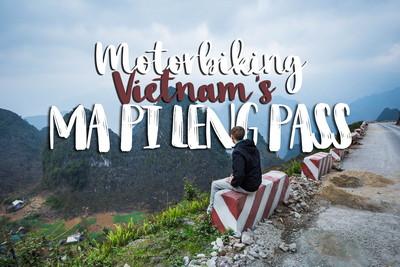 Motorbike Ma Pi Leng Pass