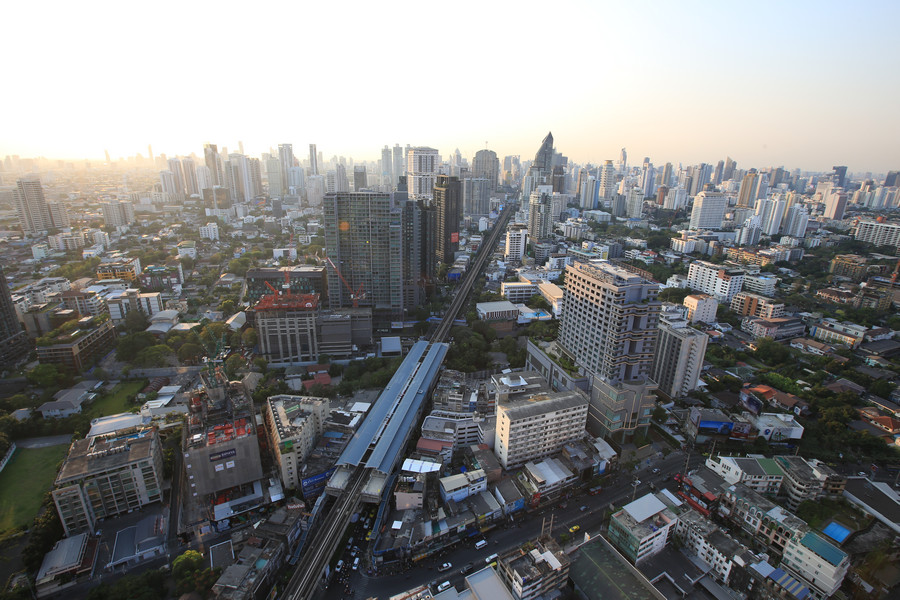 Octave Rooftop Bar, Bangkok