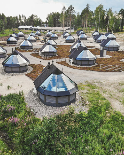 Apukka Resort Glass Igloo