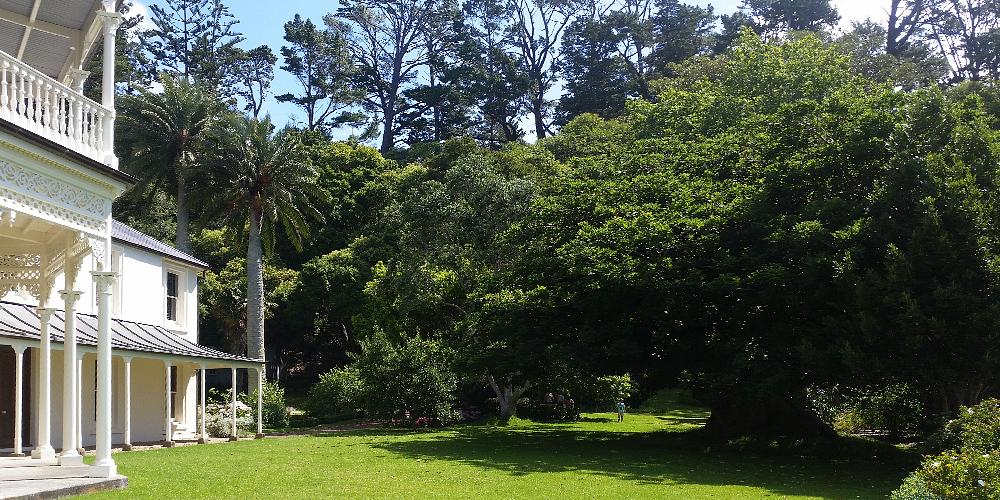 Kawau Island - Mansion House & Reserve (NZ DOC)