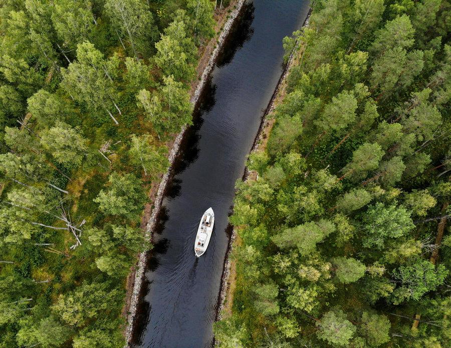 Lake Yövesi, Finland