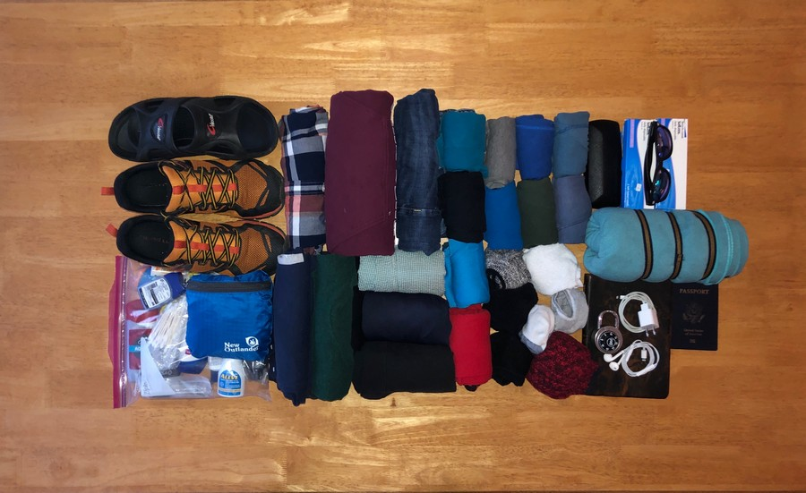 South America Packing List