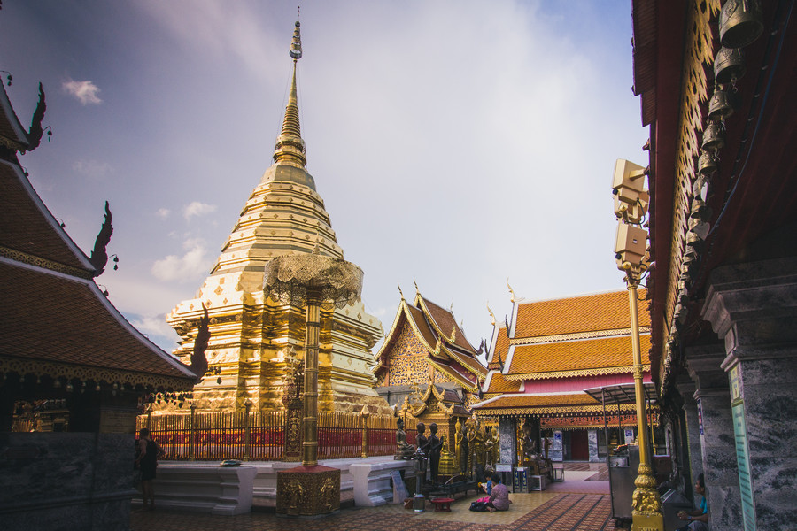 Wat Doi Suthep Near Chaing Mai