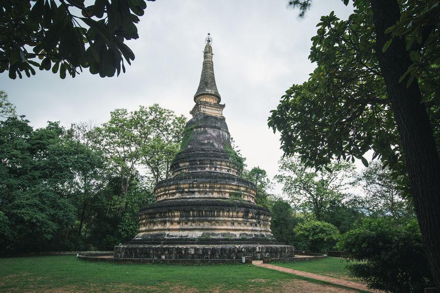 Wat Umong Stupa