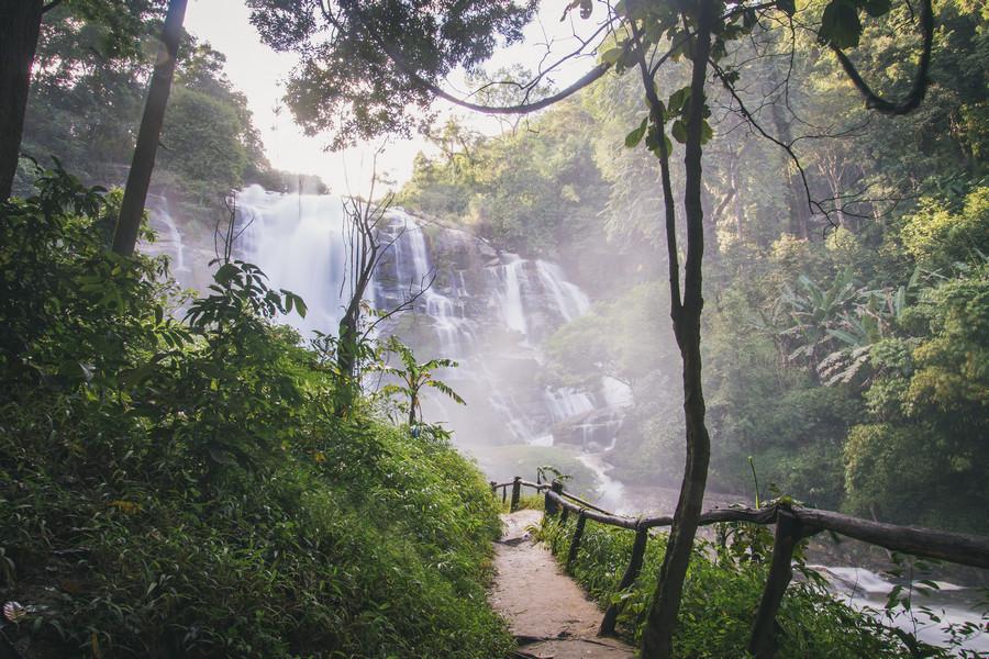 Waterfalls Near Chiang Mai