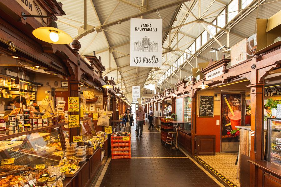 Helsinki Old Market Hall