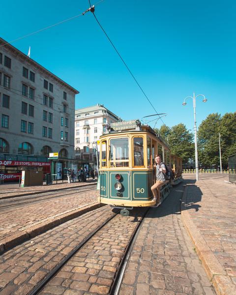 Helsinki Vintage Tram