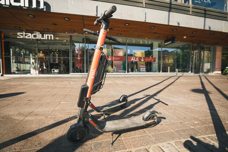 Voi Scooters Helsinki