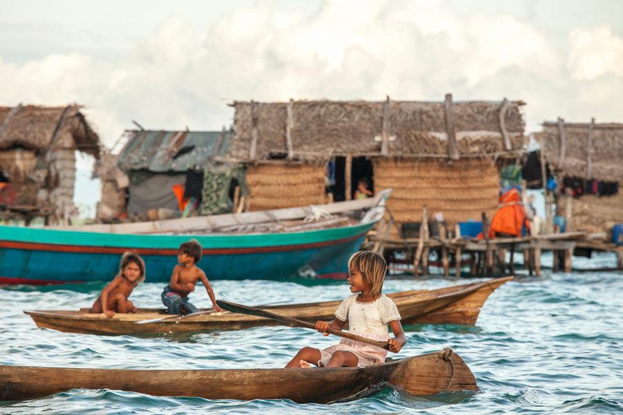 Bajau Laut Sea Villages in Semporna