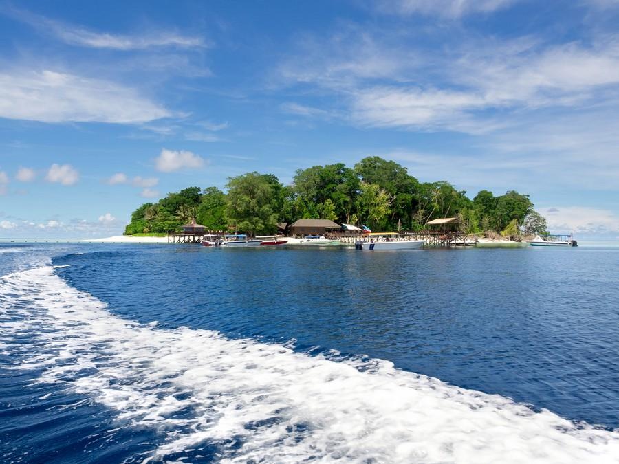 Pualau Sipadan Island in Sabah Malaysia